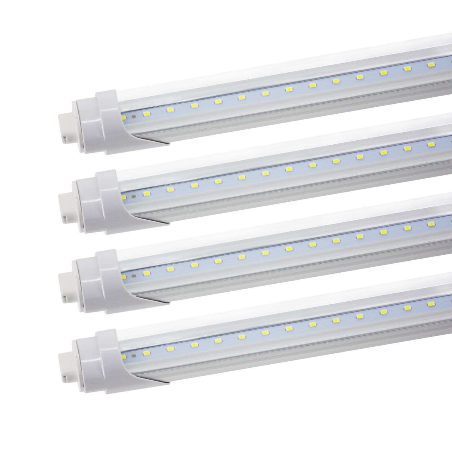 JESLED T8/T10/T12 LED Light Tube, 8FT LED R17D/HO Base