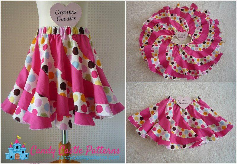 Peppermint Swirl Skirt Tutorial - Free download - Beautiful twirly ...