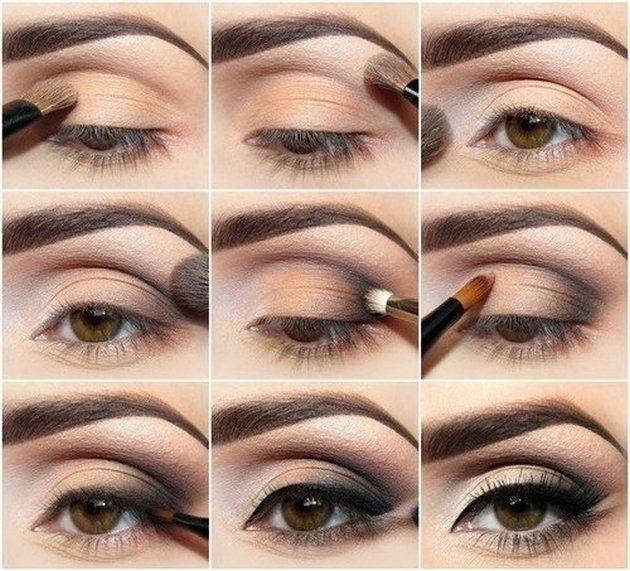 11 Makeup Tutorials For Brown Eyes   Make-up   Pinterest   11 ...