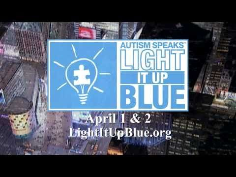 I love this song! Don't forget to Light It Up Blue!