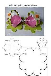 Canastito en flor