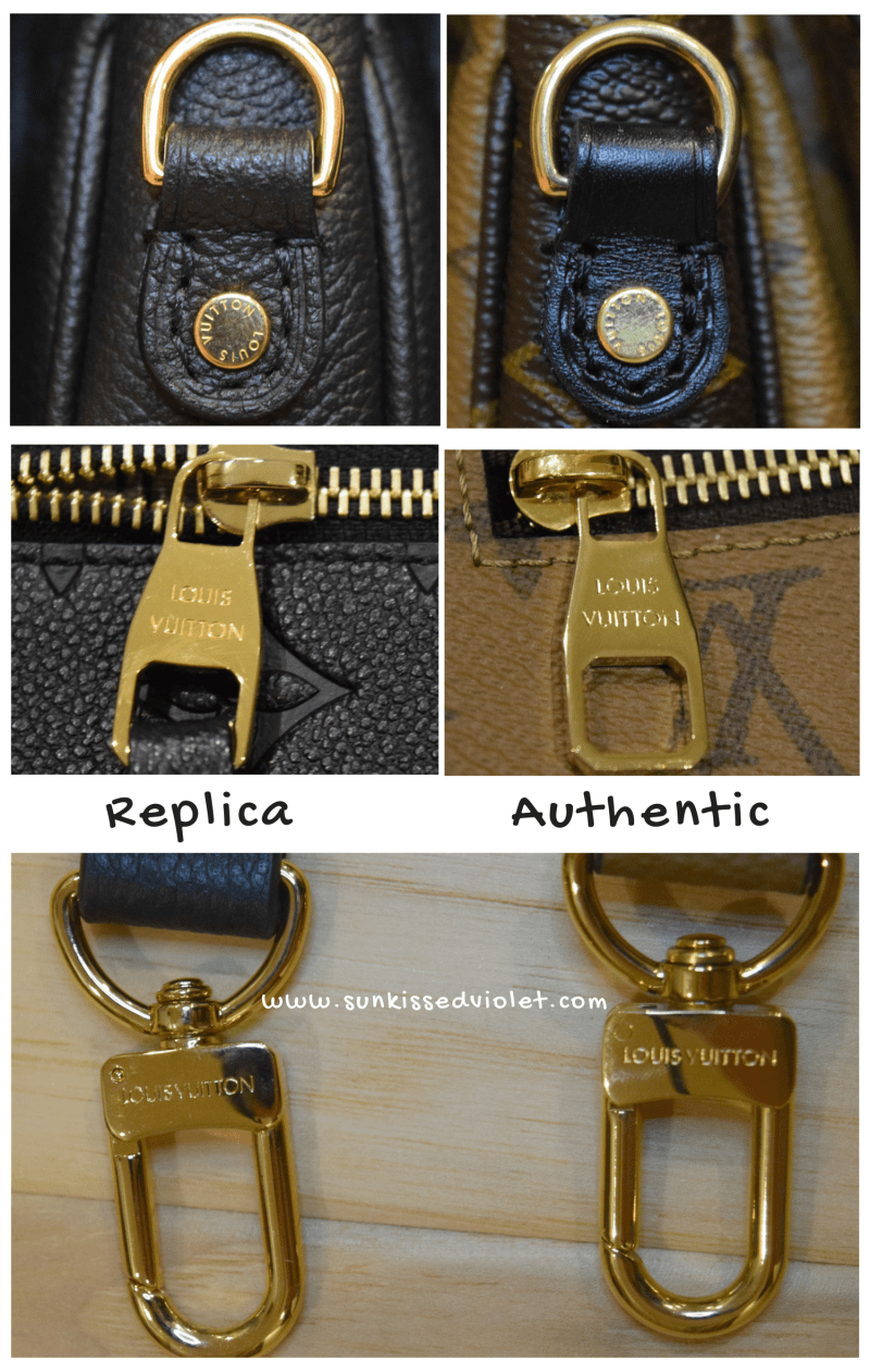 How to spot a FAKE Louis Vuitton Croisette Bag  A Detailed Review ... 57cca797dd933