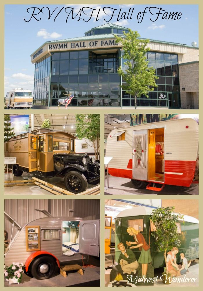 Rv Hall Of Fame >> Rv Mh Hall Of Fame Exhibits Campers Of Yesteryear Indiana Travel