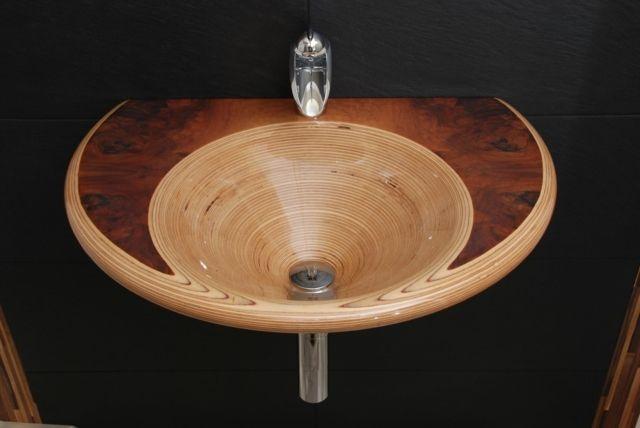 Ammonitum Gemini Waschbecken Designer Produkte Holz | Sink ~ Design ...