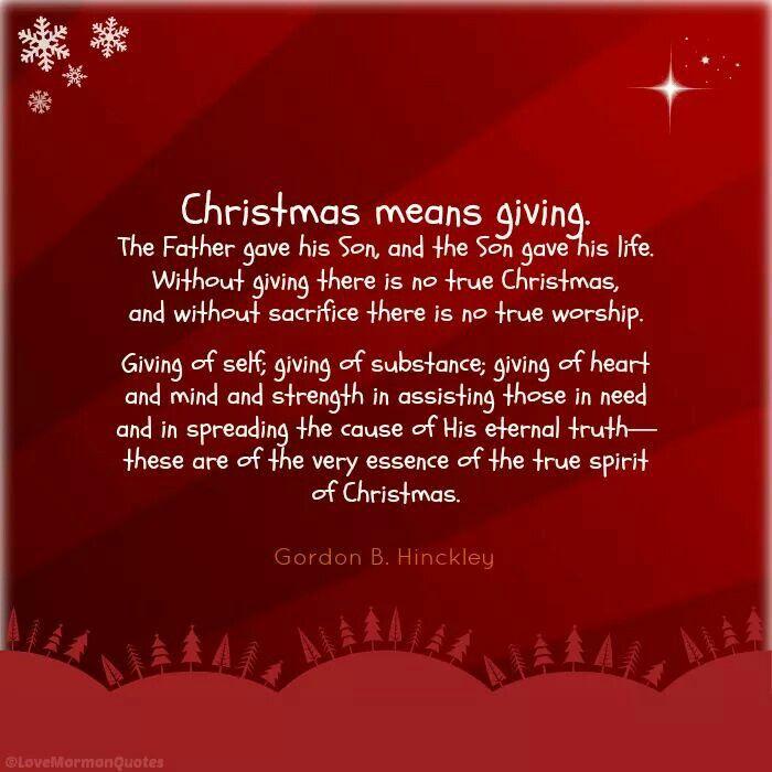 Christmas Christmas Quotes Inspirational Christmas Quotes Lds Christmas Quotes