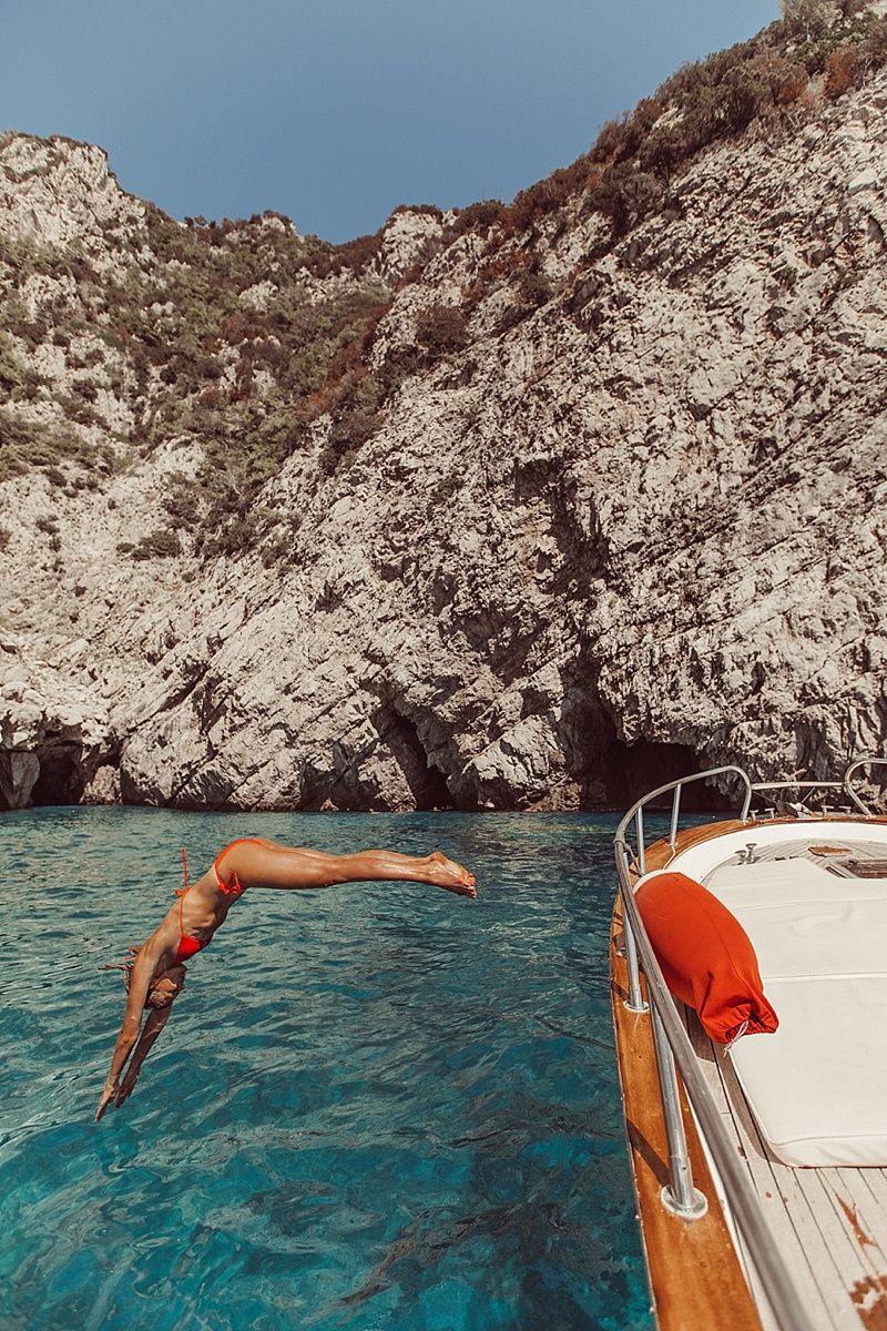 A Day in Capri | By Tezza