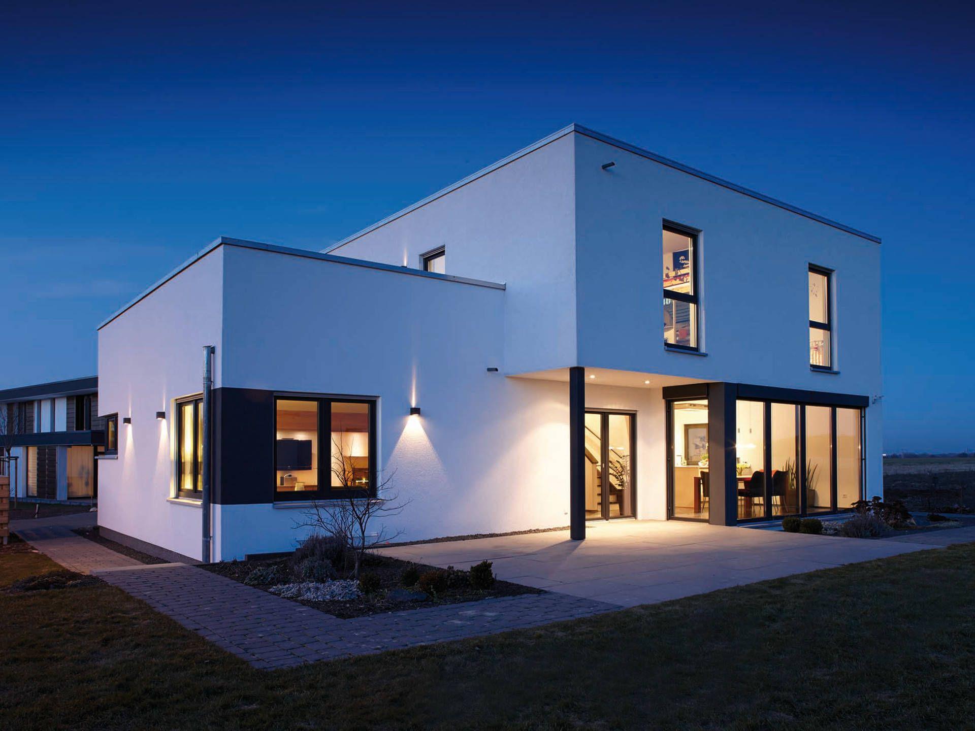 Architektur Trend Haus • Bauhaus, Cubus von FingerHaus ...