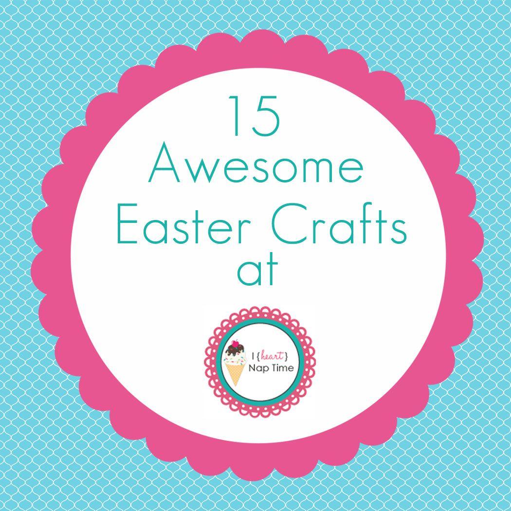 15 awesome easter crafts jalyn iheartnaptime i am one of 15 awesome easter crafts jalyn iheartnaptime i am one awesome teachersgift ideas negle Choice Image
