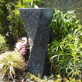 Twisted Limestone Column Water Feature Kit Water Feature Kits Sphere Water Feature Water Features