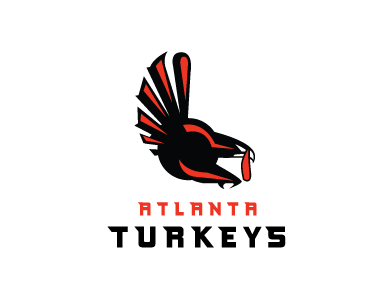 Httplogoturncomblogfamouslogosgetthanksgivingtreatment - Famous logos redesigned as angry birds characters