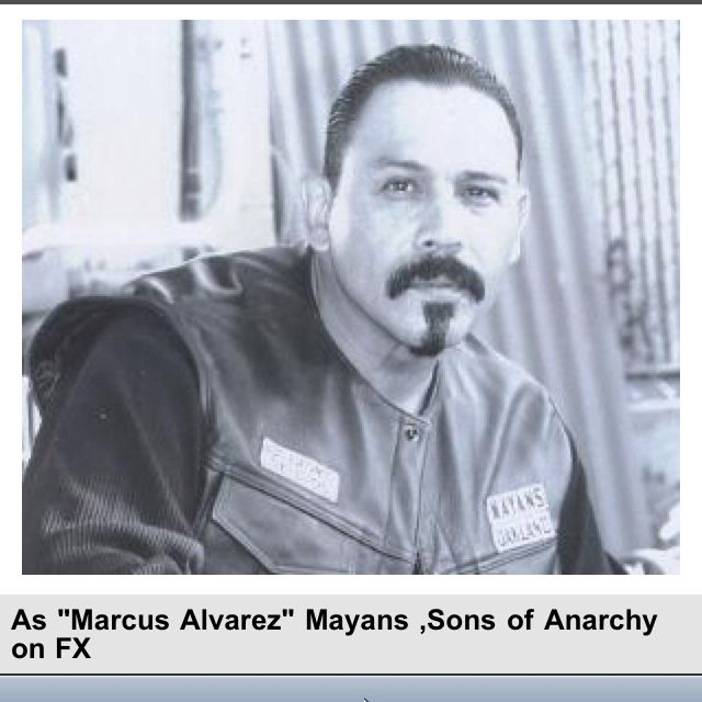 Emilio Rivera, Sons Of Anarchy  People - Men  Sons Of -4892
