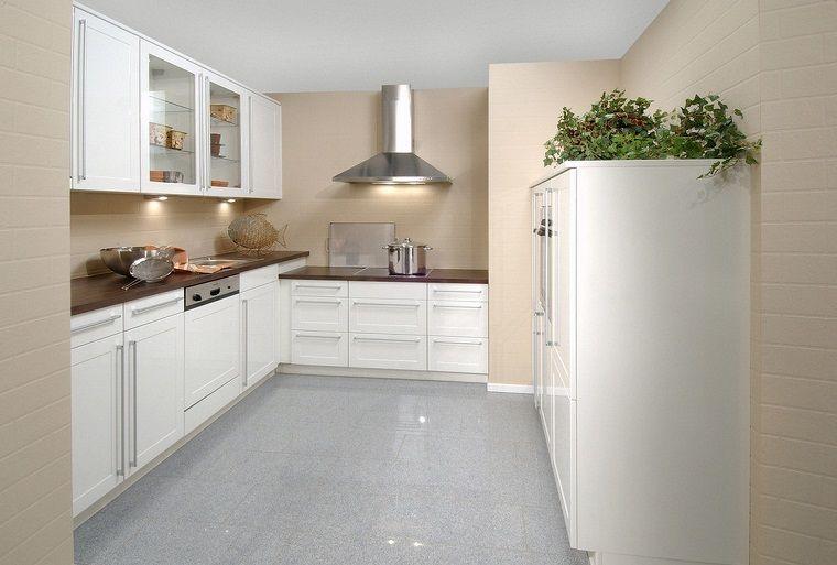cucine-ad-angolo-moderne-mobili-bianchi-top-legno-scuro ...
