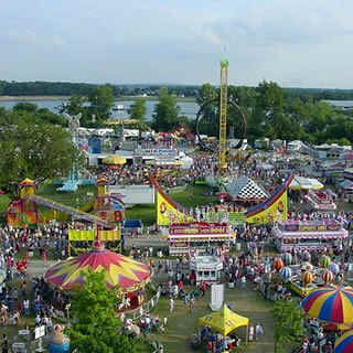 Elkhart County 4H Fair  It's the second largest county fair