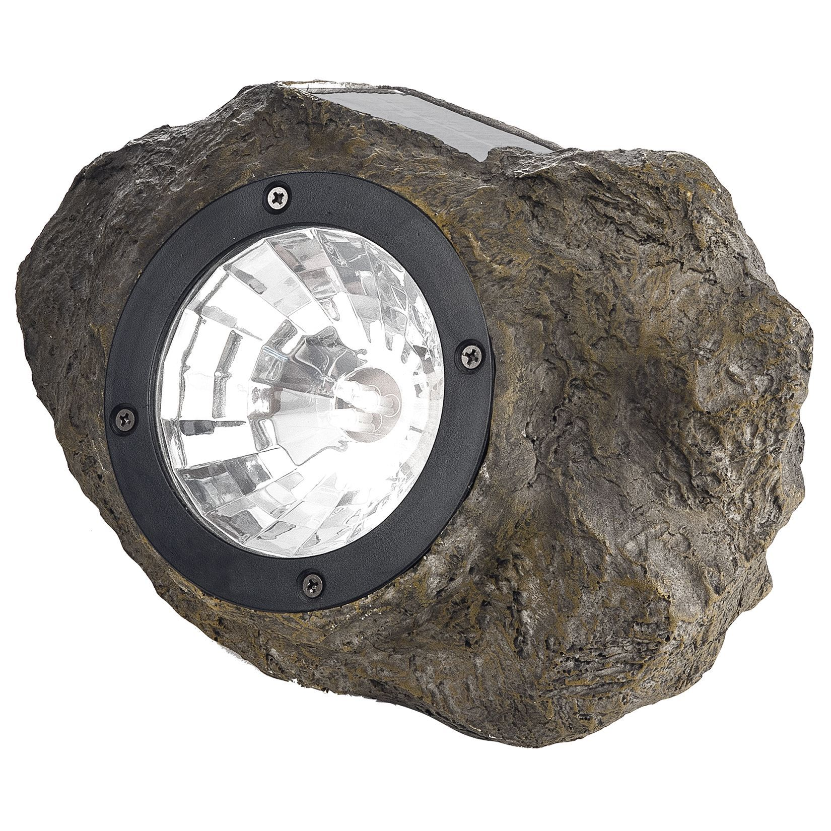 Paradise gl28560st 472 w x 827 l x 472 h plastic solar rock paradise 472 w x 827 l x 472 h plastic solar rock spot light outdoor lighting multi glass aloadofball Images
