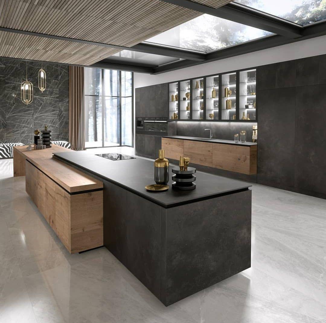 Interior Design Modern Kitchen: New House Ideas Em 2019