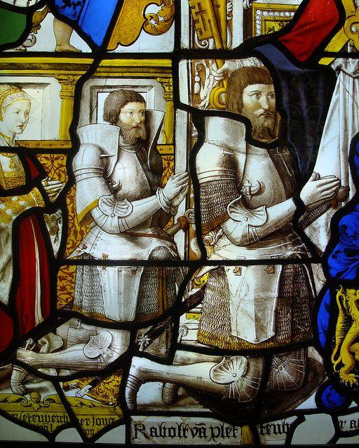 ca. 1522-1526 - 'Rabold von Plettenberg the Elder and the Younger, and daughter-in-law Maria von der Donk' (workshop of Everhard Rensig or G...