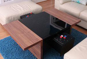 Jeux D Arcades En Table Basse Blog 3d Table Basse Table Basse Originale Arcade