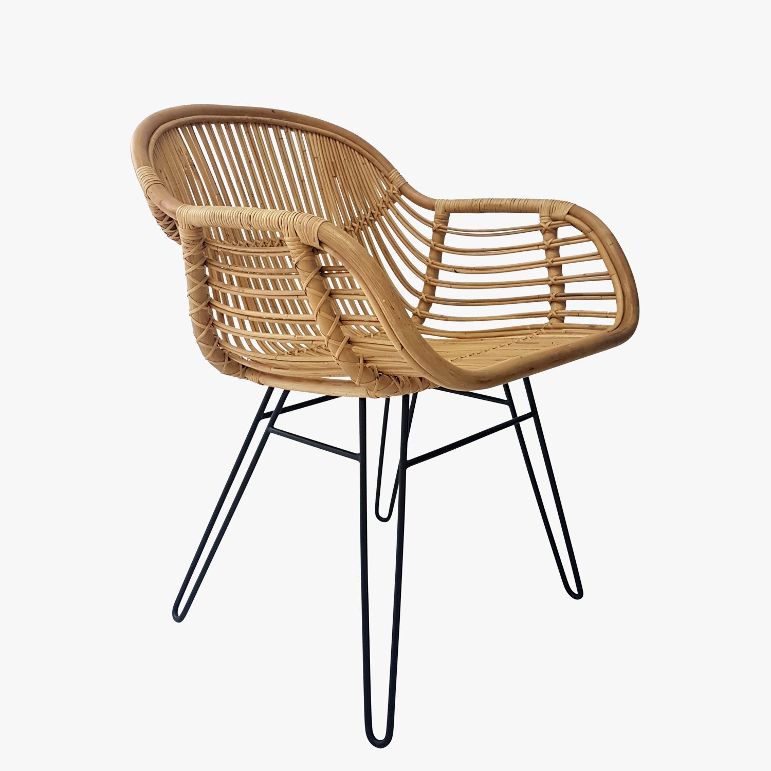 Our Ubud Modern Rattan Chair Will Lend A Laid Back Resort Vibe To Any Decor.