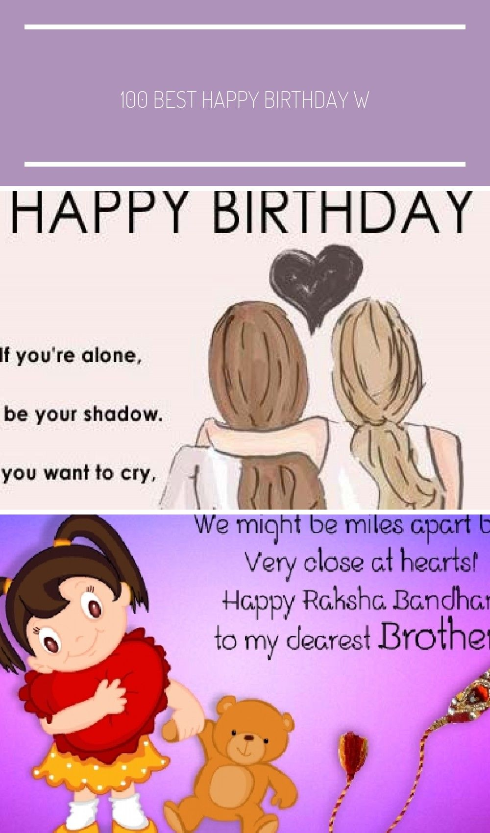 Fabulous 100 Best Happy Birthday Wishes Birthday Wishes For Sister Birthday Personalised Birthday Cards Rectzonderlifede