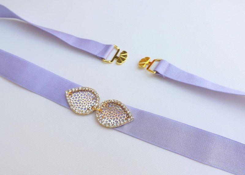 Light purple belt. Elastic waist belt. Gold leaf belt. Rhinestone belt. Crystals belt. Lavender belt. Wedding dress belt. Stretch belt by MissLaceAccessories on Etsy