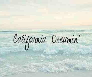 california beach on Tumblr