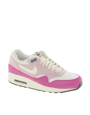 Image 1 of Nike Air Max 1 Essential Pink Trainers