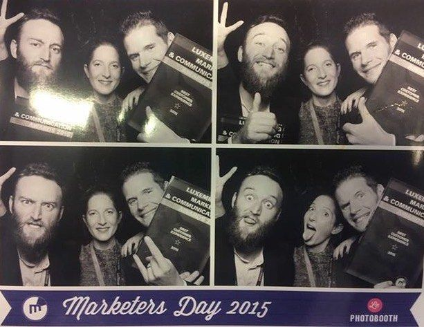 Woop woop! This is what winners look like! Thanks to Marketers.lu for this amazing night!  #MktDay