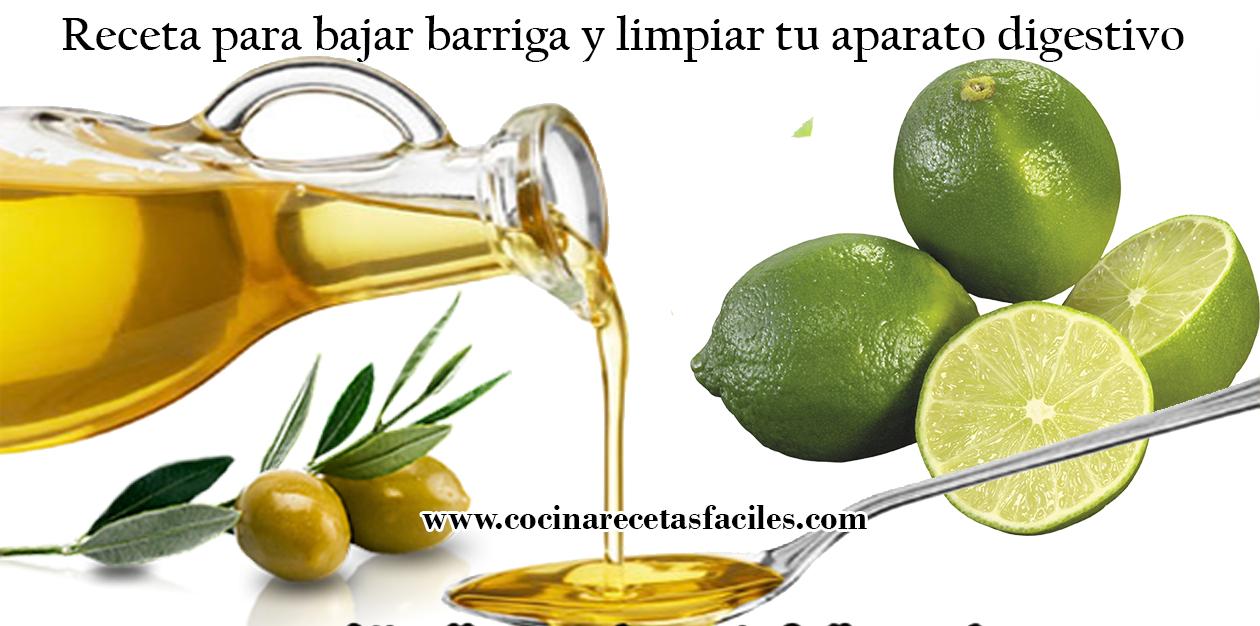 Jugo de limon con aceite de oliva para adelgazar