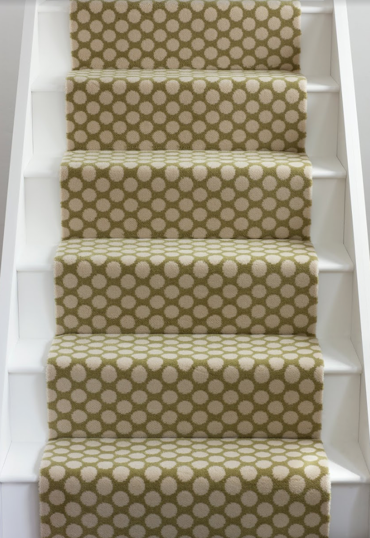 Amazing Alternative Flooringu0027s Quirky Dotty Stair Runner