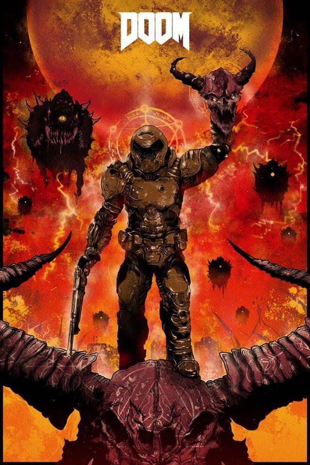 D O O M by Nikita Kaun Doom, Grey matter art, Marvel