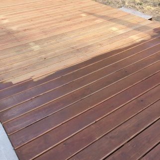 Behr valise semi transparent deck stain country girl projects deck stain colors deck colors for Cabot s exterior stain colours