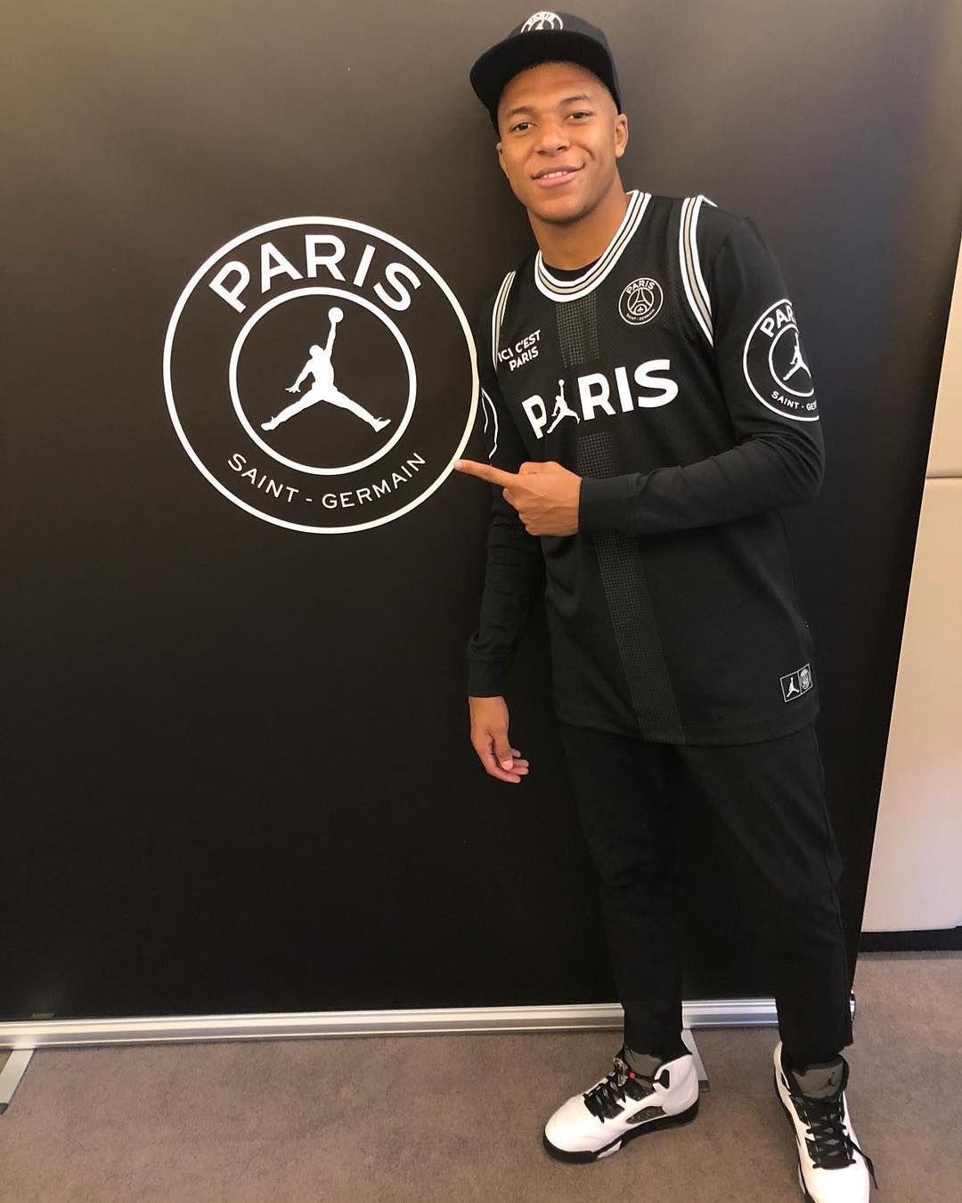 new concept 03cf5 da0d7 Kylian Mbappé #PSG x Jordan Instagram.com | GOAL POST M@TO ...