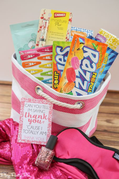 13 Going On 30 Inspired Gift Basket Idea And Three Other Fun Flick