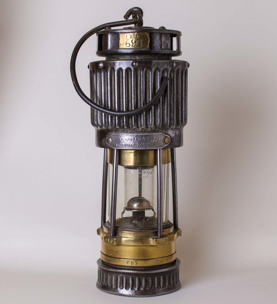 A Visual History Of Miner S Safety Lamps Museumcrush Org 2fa Lamp Art Lamp Vintage Stoves