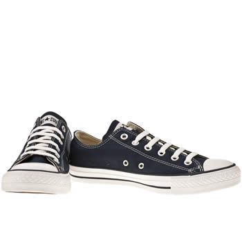 Men's Navy Converse All Star Lo Navy Trainers | schuh