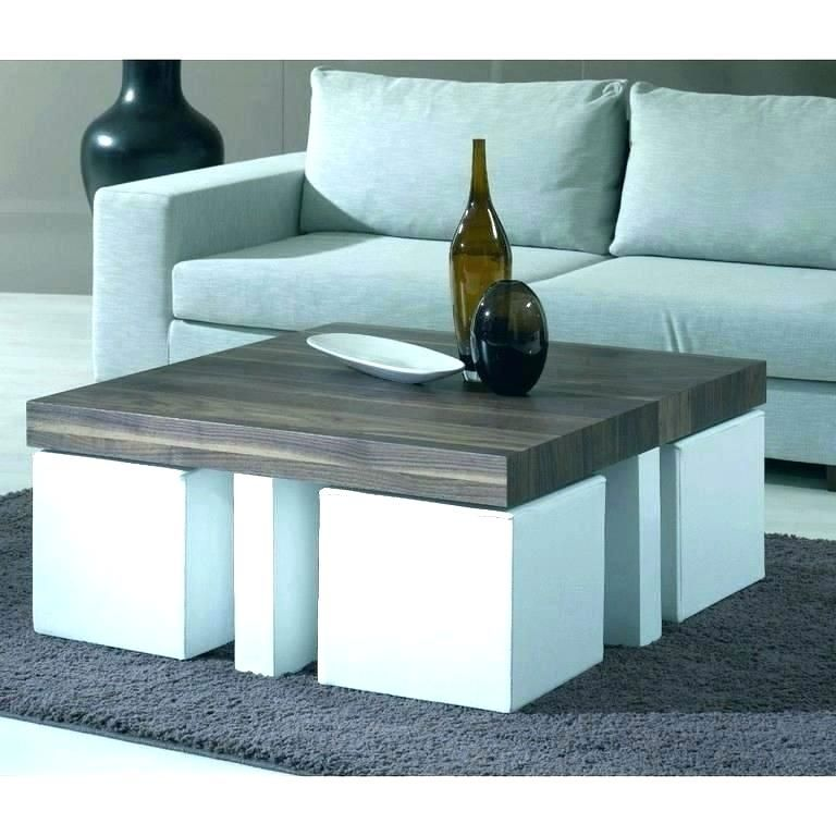 Coffee Tables With Seating Underneath Round Coffee Table With