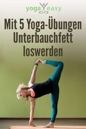 Get rid of lower abdominal fat with 5 yoga exercises