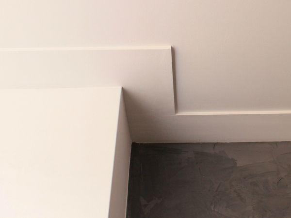 Platte plint plafond sierlijst pinterest plint for Plafond sierlijst
