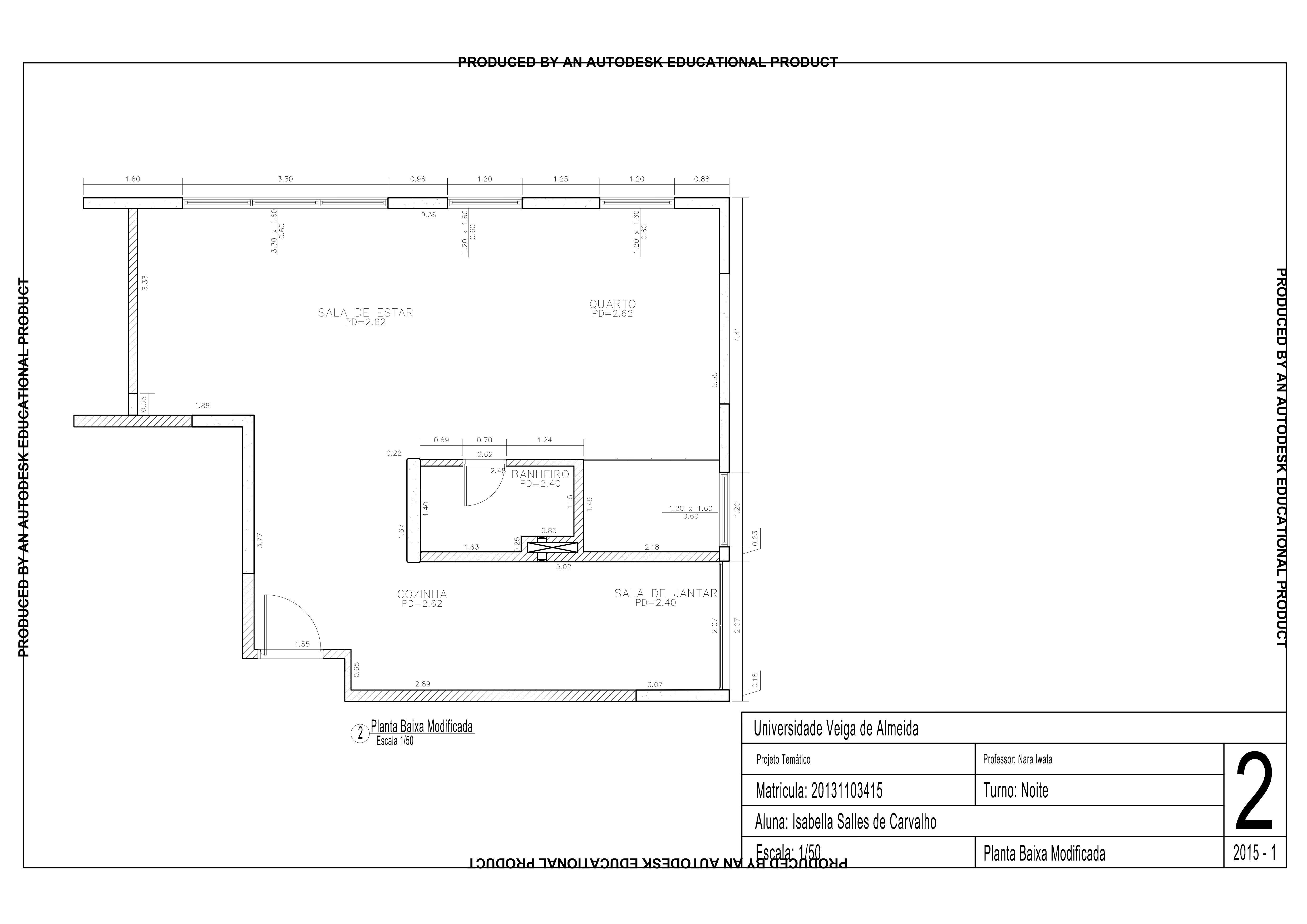 Planta Baixa Modificada Projeto Maxhaus Portf Lio Autocad Pinterest