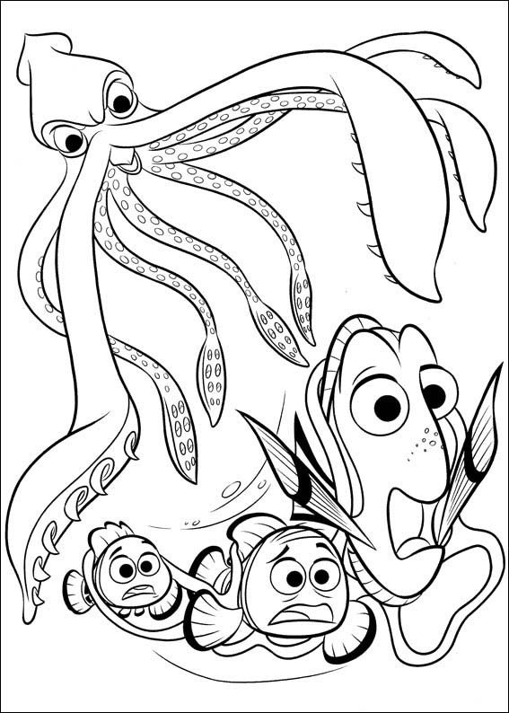 Finding Dory Coloring Pages 6 Nemo Coloring Pages Finding Nemo Coloring Pages Animal Coloring Pages