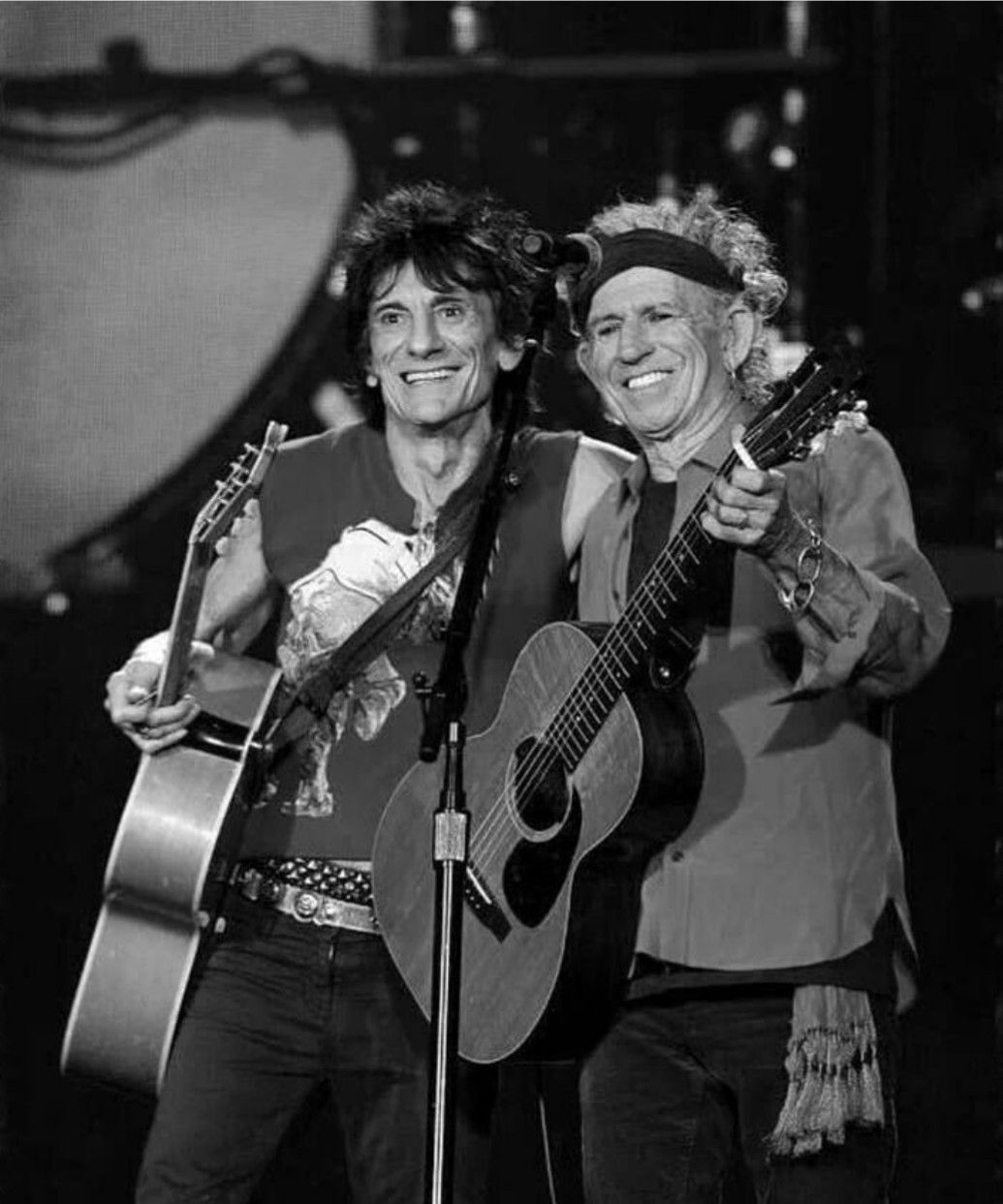 Ron and Keith | Keith richards, Rolling stones, Ronnie wood