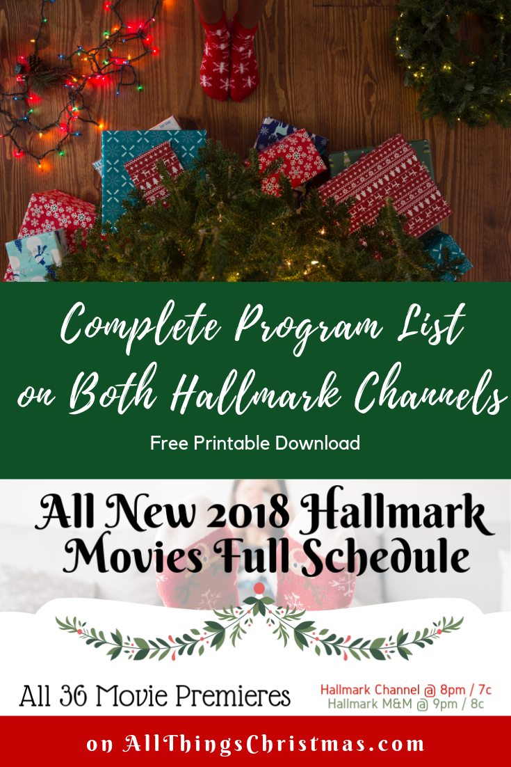 Get the full Hallmark Schedule for both channels as an easy to read ...