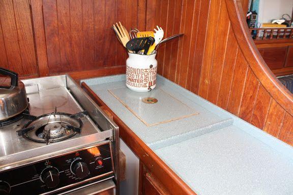Corian Custom Countertops Diversified Marine Boat Repair Restoration