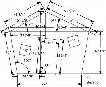 How To Build Crooked Playhouse Kits Pdf Download Crooked Playhouse Diy Blueprints Table Saw Jigs Crooked Playhouse Kit Crooked House Play Houses Playhouse Kits
