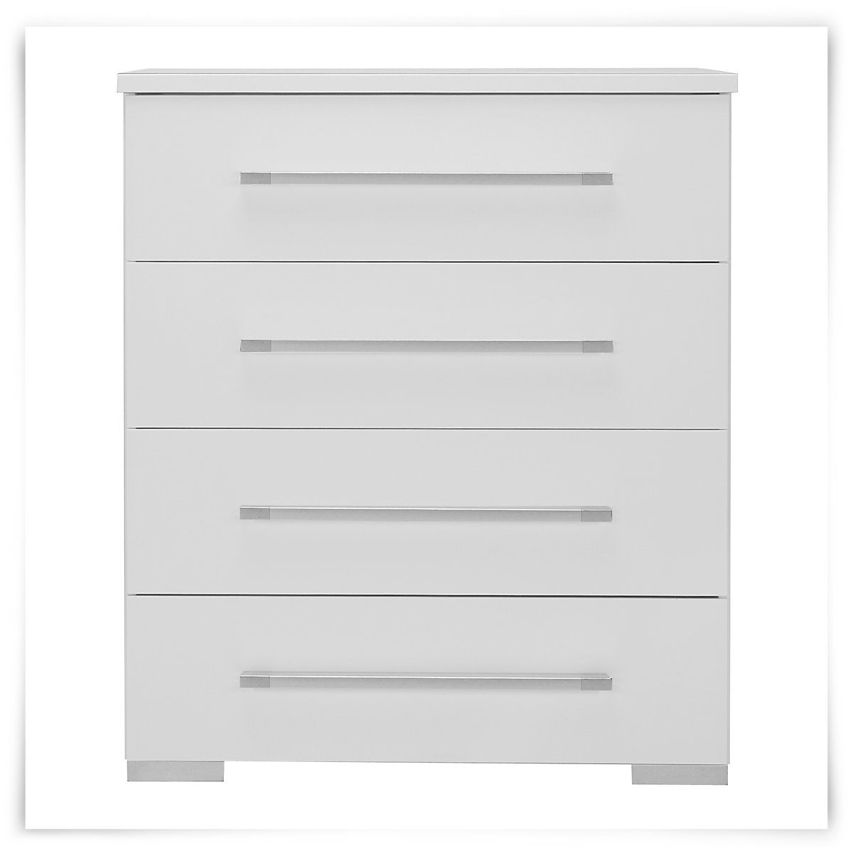 Dimora white small drawer chest master bed unit 1 under - Bedroom sets with drawers under bed ...
