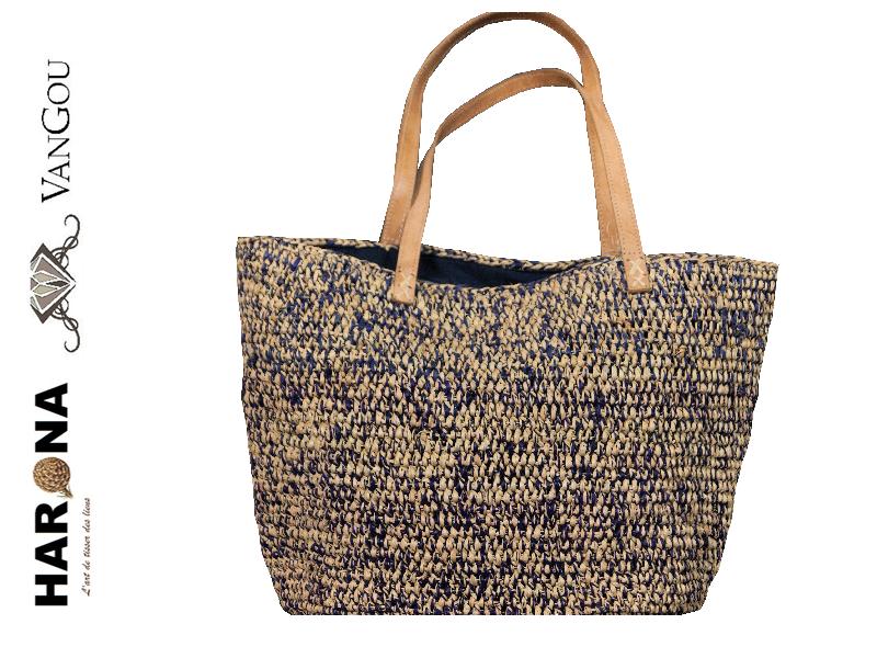 8580405fe7 Sac Raphia Crochet Madagascar   artisanat   Sac, Sac cabas, Panier plage