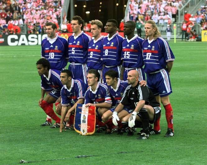 Lama leboeuf blanc petit zidane les disputes de france 98 belles photos great pictures - Joueur coupe du monde 98 ...