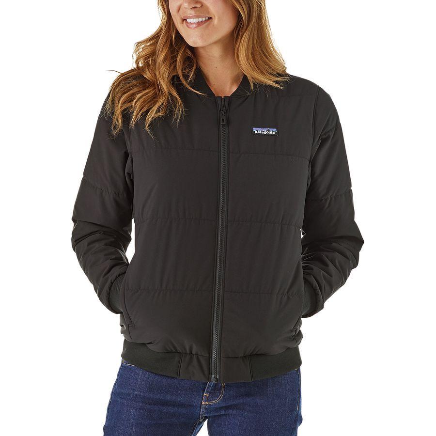 Patagonia Zemer Bomber Jacket Women S Black Jackets Bomber Jacket Women Jackets For Women [ 900 x 900 Pixel ]