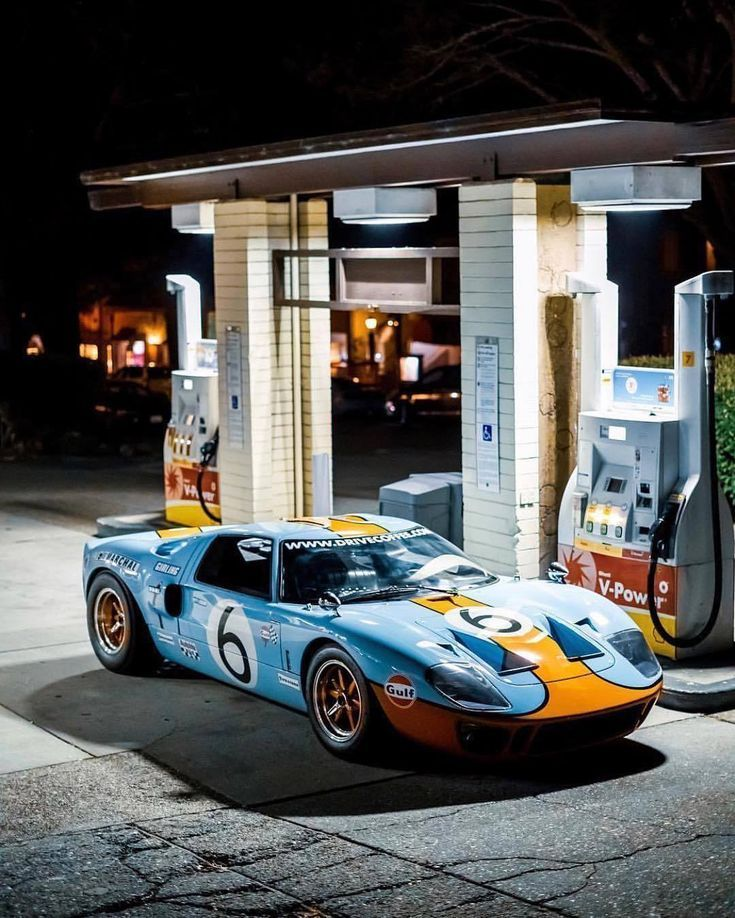 Gas up Ford GT40 Ford Gas GT40 wallpapers 4k