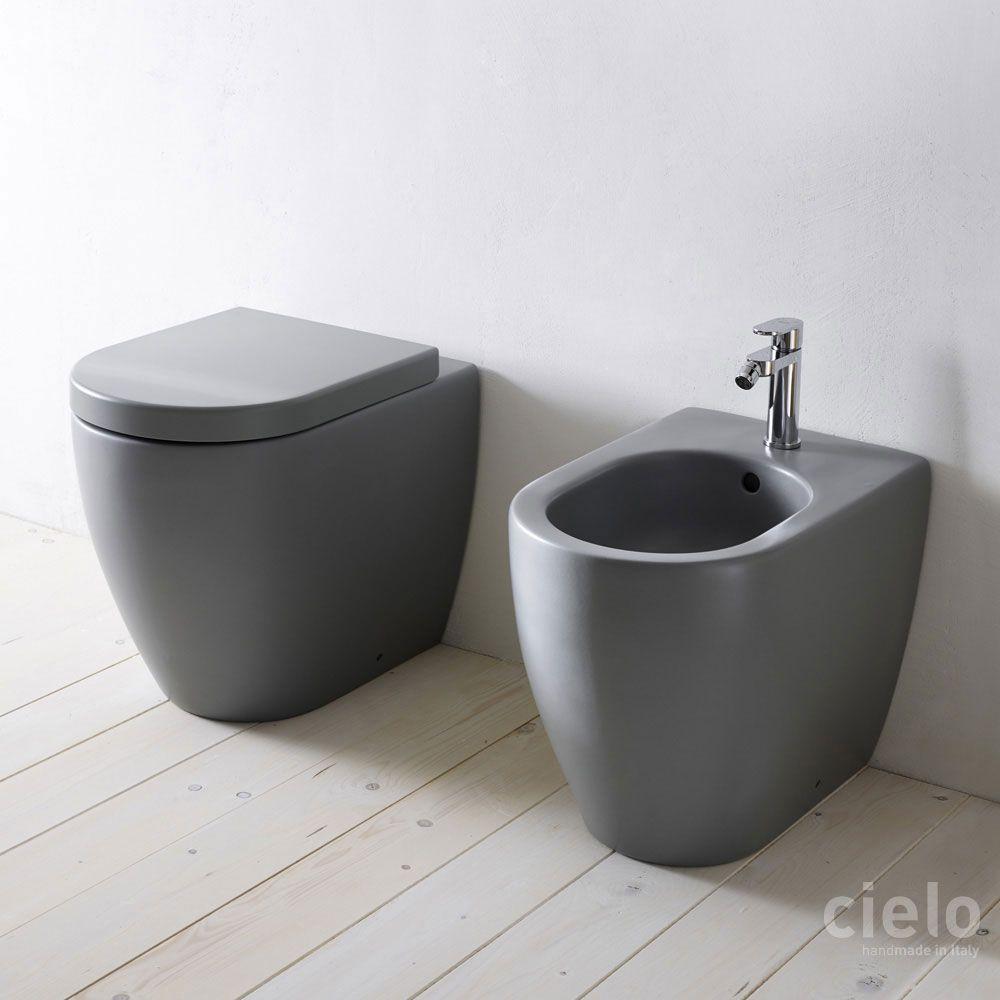 Design bagno bidet : WC e bidet colorati bagno - Sanitari di design Ceramica Cielo ...